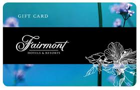 hotel gift card fairmont gift cards are available in denominations ranging from 50