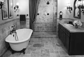 bathroom design awesome gray bathroom floor tile black grey