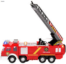 fire truck invitations amazon com memtes electric fire truck toy with lights and sirens