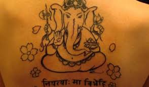 hindu lord ganesha tattoo design photos pictures and sketches