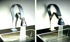 no touch kitchen faucet kitchen faucets touchless chrome single handle pull kitchen