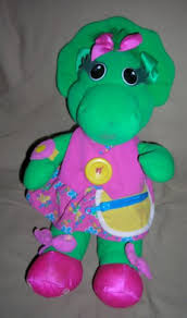 playskool talking barney dinosaur 17
