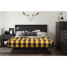Oak Platform Bed South Shore Platform Bed 10398 The Home Depot