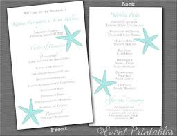 best wedding programs 21 best wedding programs images on weddings fan