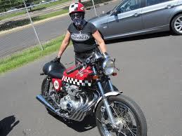 honda cb400 cool 1975 honda cb400 cafe racer no baffles