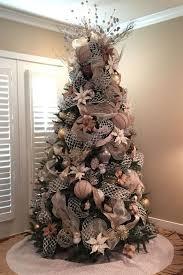 burlap christmas tree awesome christmas tree decorations