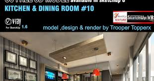 sketchup texture best free sketchup 3d model kitchen u0026 dining
