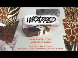 leopard print tissue paper animal print wrapping paper giraffe animal pattern printed