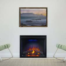 Indoor Electric Fireplace Napoleon Bef33h 33 Inch Indoor Electric Fireplace With 4 Color