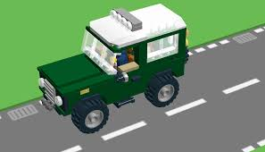 land rover lego lego ideas land rover defender minifigure scale