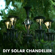 Solar Plant Lights by This Diy Solar Chandelier Is Great For Dining Al Fresco Nifty