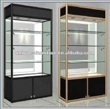 lockable glass display cabinet showcase wood color lockable glass showcase under display cabinet for storage