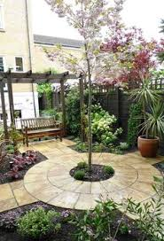 Patio Design Ideas For Your Beautiful Garden Hupehome by Passion Blooms In A Garden Design Garden Plants Patio And Patios