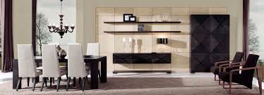dining room wall unit contemporary living room wall unit walnut eros collection by