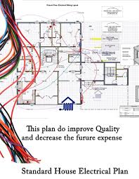 Floor Plan With Electrical Layout House Planning And Designing