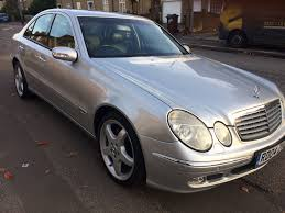 2004 mercedes e270 cdi elegance silver auto exceptional condition