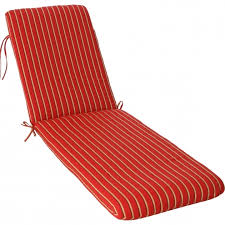 Sunbrella Chaise Lounge Cushions Phat Tommy Outdoor Sunbrella Chaise Lounge Cushions Red Stripe