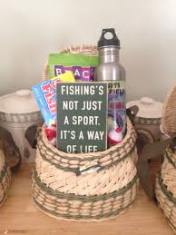 s day fishing gifts diy s day fishing gift basket my finished gift baskets