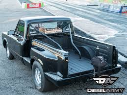 Old Ford Drag Truck - an inspiring c10 brett deutsch u0027s 8 second 1969 duramax powered