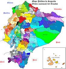 Physical Map Of Colorado by Ecuador Physical Map