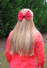 in hair bow big hair bow for and women bow bows fabric bow
