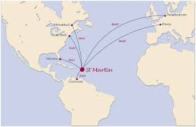 map of st martin map of the caribbean islands st martin island caribbeans