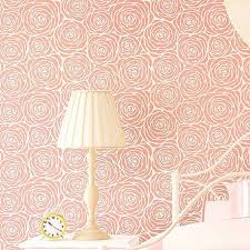 Floral Wall Stencils For Bedrooms 43 Best Rose Stencils Images On Pinterest Rose Stencil