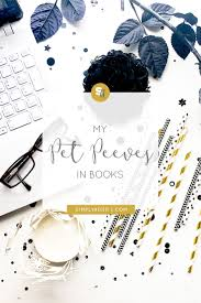 my pet peeves in books simply adrift