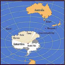 map of antarctic stations antarctica the frozen wilderness australian bases history