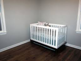 Gray Convertible Cribs by Bedroom White Target Cribs With Dark Pergo Flooring And White