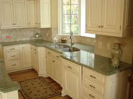 granite countertop 18 kitchen cabinets grey glass backsplash