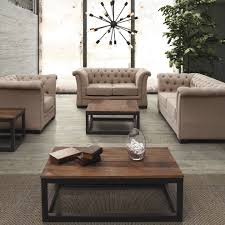 Transitional Living Rooms by Inspired Tufted Loveseat Fashion Other Metro Transitional Living