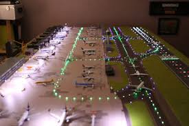 model airport runway lights customer project 44 model airport lighting