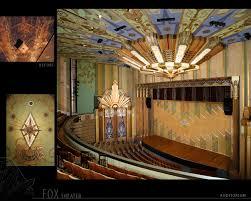 fox theater spokane wa cool architecture pinterest