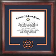 auburn diploma frame auburn spirit diploma frame certificate framing
