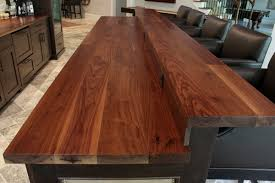 kitchen island with wood top wooden kitchen island top bar top contemporary kitchen