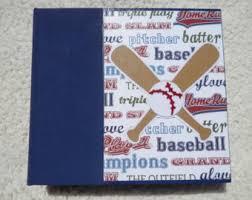 baseball photo album baseball photo album etsy
