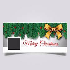 cover page template free download merry christmas facebook cover page template free download on pngtree