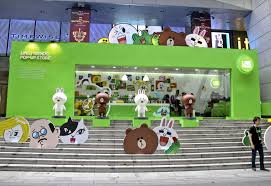Line Store Singapore S Line Pop Up Store Opens With Giveaways