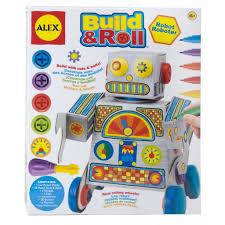 alex toys craft build u0026 roll robot alexbrands com
