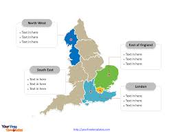 Blank Map Britain by Free England Editable Map Free Powerpoint Templates