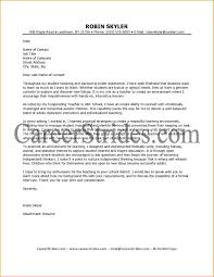 Teacher Cover Letter With No Experience 10 Higher Education Cover Letter Bibliography Format