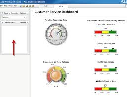 Sas 70 Report Exle by Web Report Studio Add Dashboard Controls With A Sas Stored Process