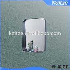 Round Bathroom Mirror With Shelf by Black Round Corner Bathroom Mirror With Shelf Buy Mirror