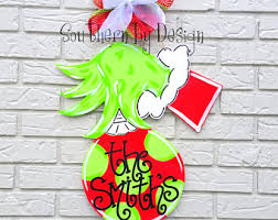 the grinch christmas decorations grinch etsy