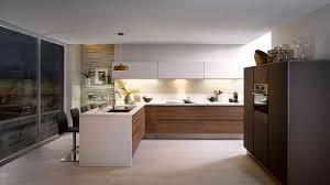 cuisine blanc laqué et bois frais cuisine blanc laqué et bois impressionnant design à la