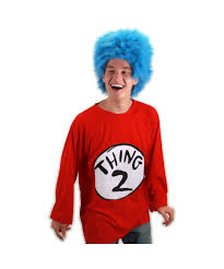 1 2 Halloween Costume 2 Size Seuss Cat Hat Costume Kit