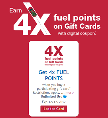 gift cards sale expired kroger gift card sale 4x fuel points and lots of other