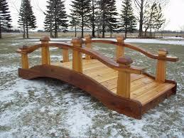 garden bridges handcrafted wooden bridges