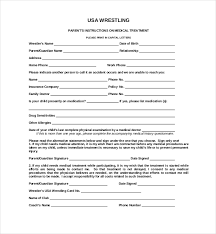 medical waiver form template beautifuel me